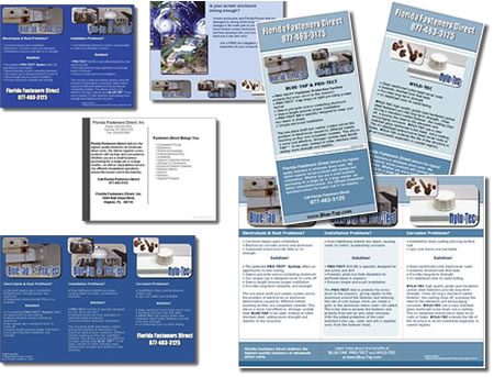 Collateral Package for Blue-Tap - design42 (828) 692-7270