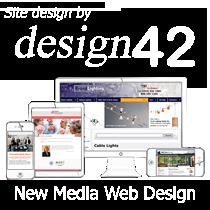 Site design by design42 New Media Web Design