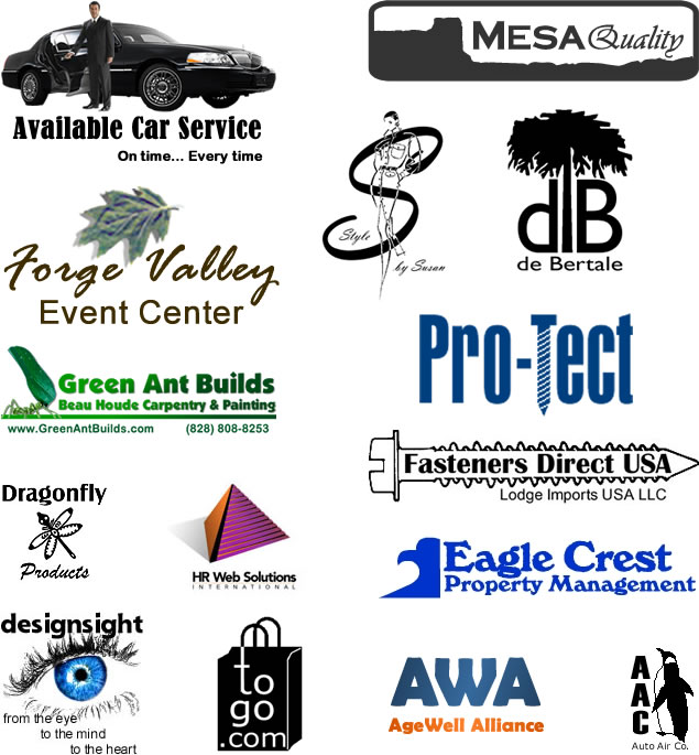 design42 can help you with designing your logo or corporate signature. Call us at (828) 692-7270 or email sales@design42.com. Make an appointment for a personal consultation at your home or business or at the design42 office.