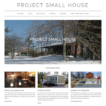 Project Small House - design42 New Media Web Design (828) 692-7270