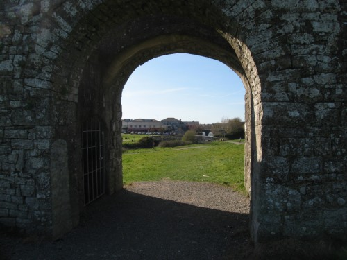 Sheep Gate, the remaining Gate in the City Walls of Trim