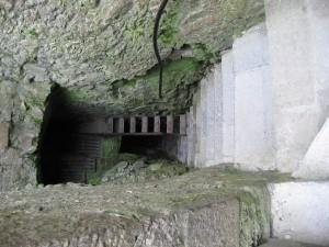 Stairs in Cahir Castle