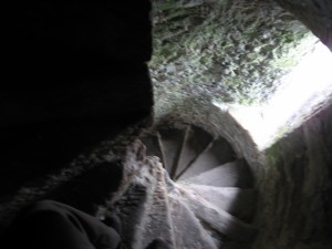 Spiral Stairs in Cahir Castle
