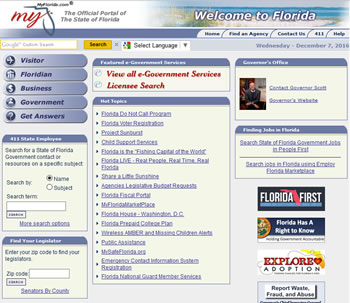 myflorida.com Website - by design42 New Media Web Design. Call (828) 692-7270. Find out what we can do for your business!