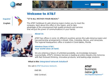 Before AT&T was Bellsouth, Carla worked for Randstadt on the prototype AT&T web site for Latin America.